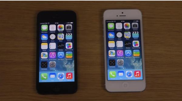 iPhone 5 iOS 7.1 Beta 3 vs. iOS 7.0.4 speed test