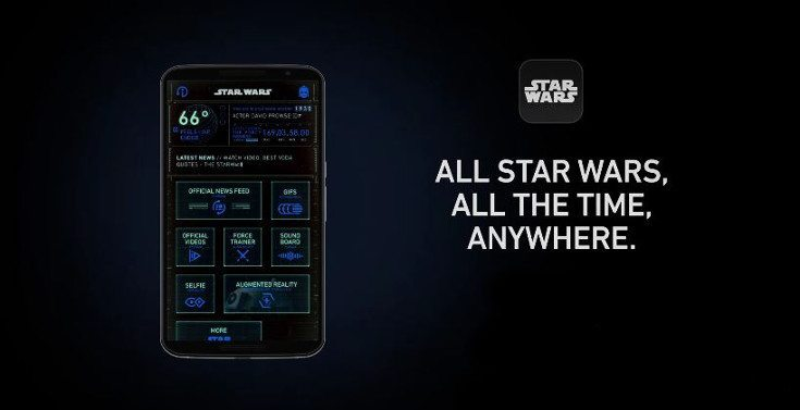 An Official Star Wars app arrives for mobile devices
