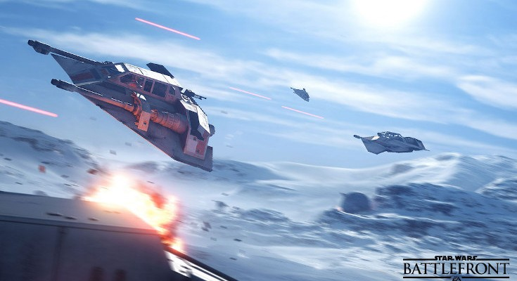 Star Wars Battlefront open beta release arrives today