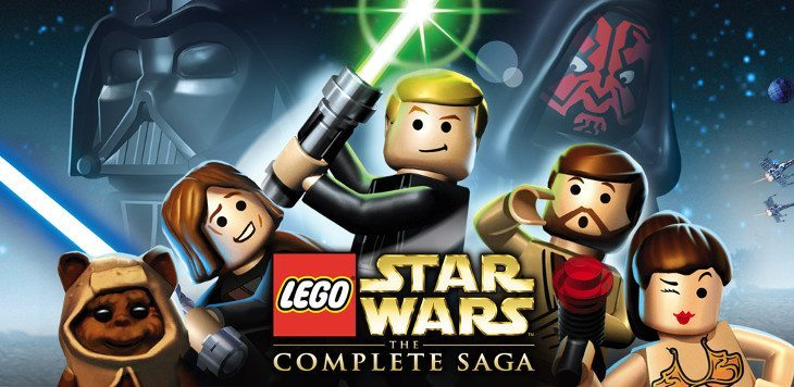 Star Wars The Complete Saga LEGO