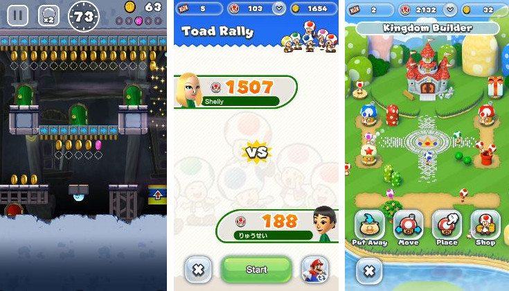super mario run iphone game