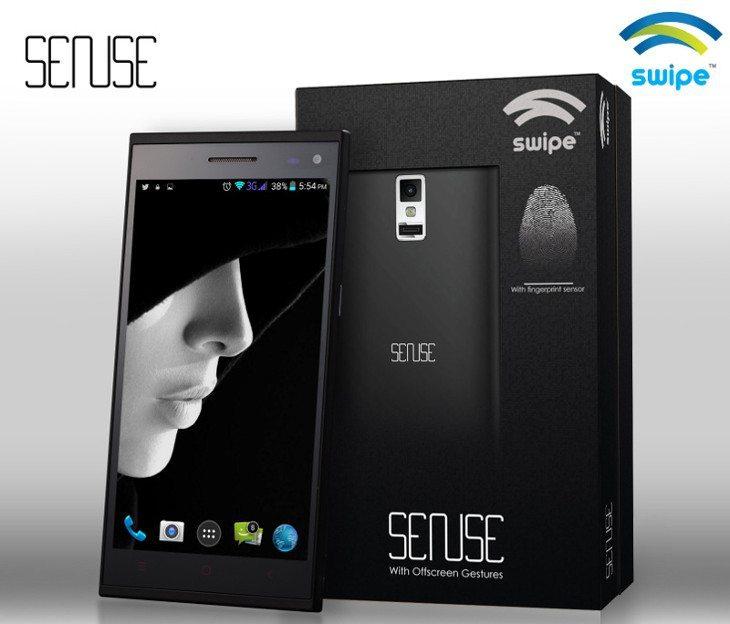 swipe sense smartphone
