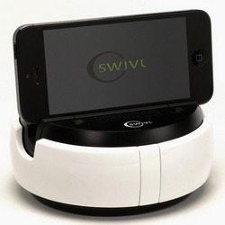 Swivl multipurpose dock for tablets and DSLR