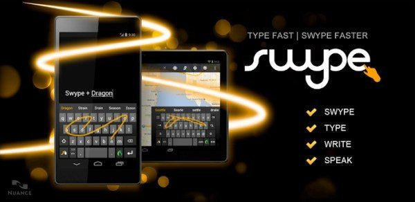 Swype Android app latest version of keyboard now available