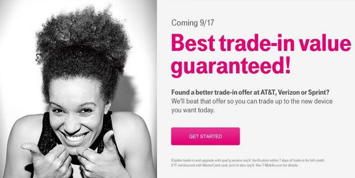 T mobile trade in options