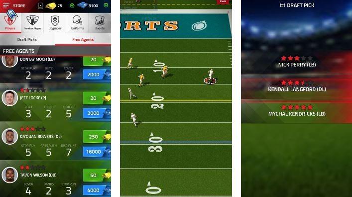 tap sports football