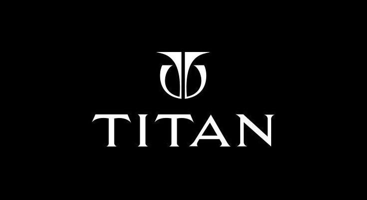 titan watch logo
