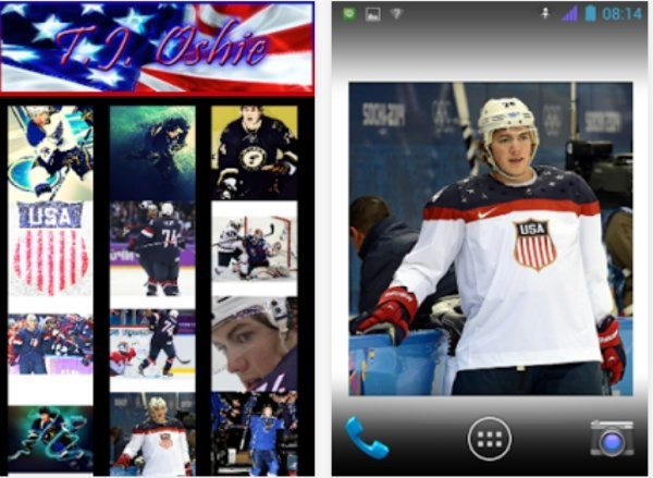 tj oshie olympic success inspire wallpapers app