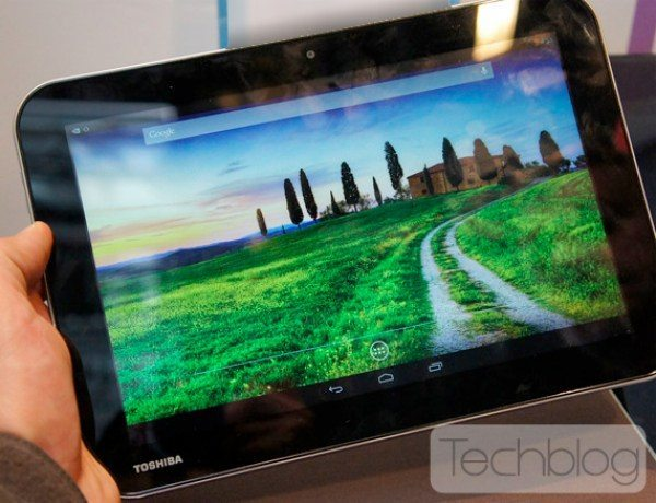 Toshiba AT10LE-A tablet with Tegra 4 chip photo leak