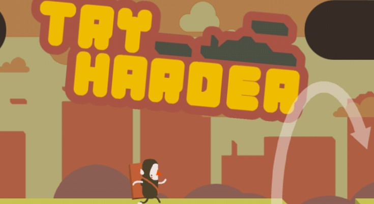Noodlecake Studios aims to frustrate gamers with Try Harder
