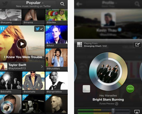 Twitter Music app for iPhone launched, Android users wait on