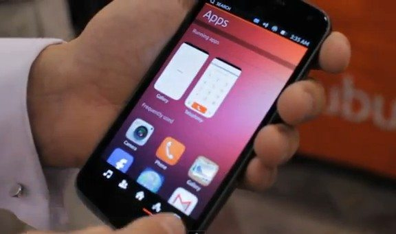 Ubuntu phone all Linux but open like Android ...