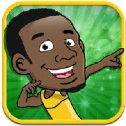 Usain Bolt iPhone game is more than 200m final