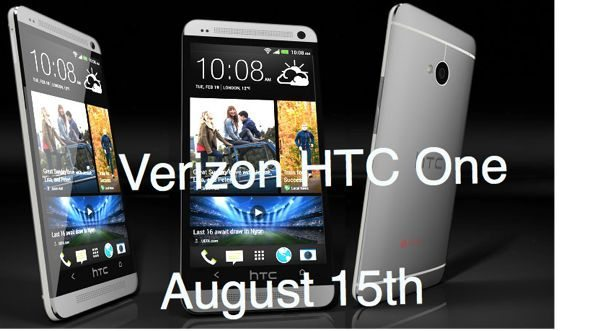 verizon htc one release