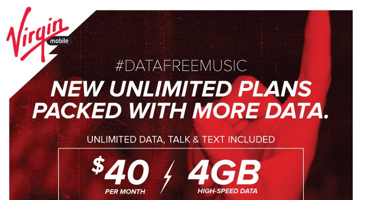 Virgin Mobile USA announces new $40 Unlimited Plans