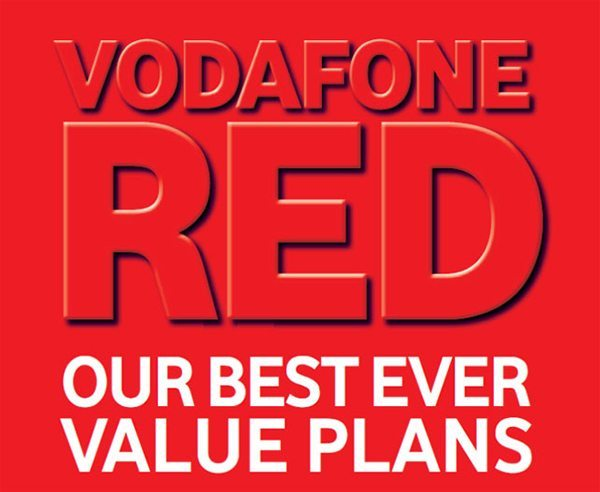 Vodafone Red XXL 4G plan launched