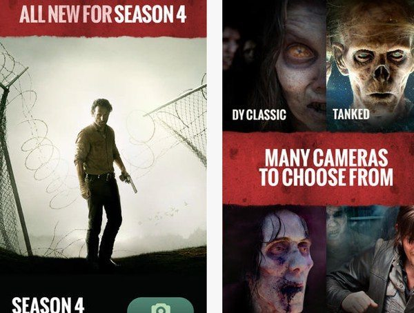 Walking Dead app for Android, iPhone, newly updated