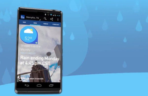 Weather Channel Android update 4.0.1 attracts user complaints