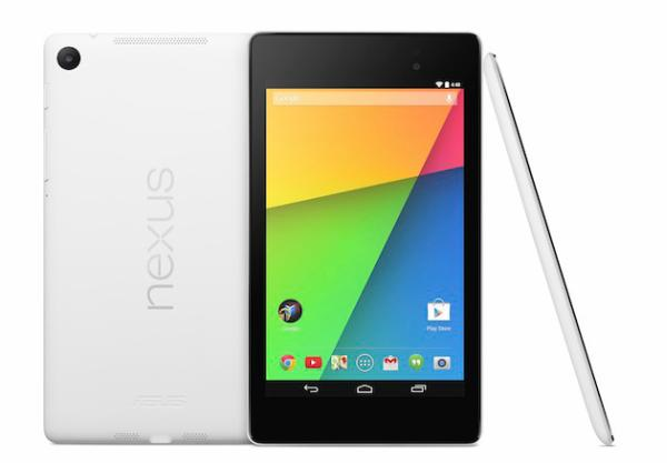 White Nexus 7 and official Folio case released