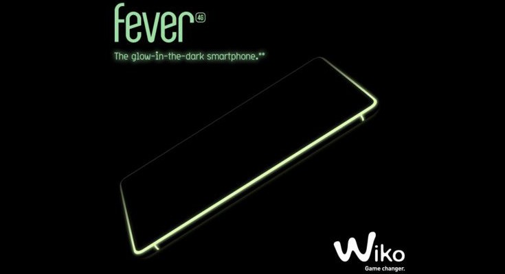 The Wiko Fever 4G is a glow-in-the-dark Smartphone