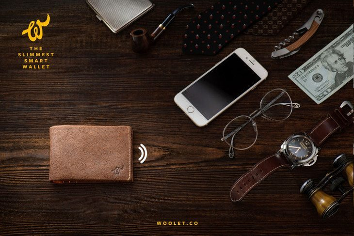 The Woolet Wallet brings brains to your Billfold