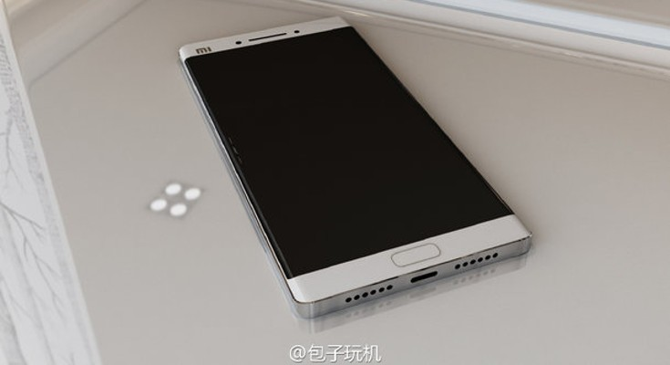 Xiaomi Mi Note 2 renders appear along with potential specs
