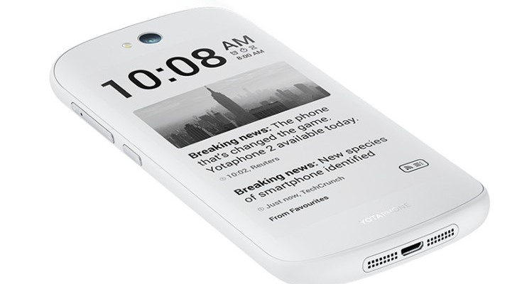 The YotaPhone 2 gets Lollipop while becoming cheaper