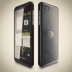 BlackBerry Z10 parts appear in video