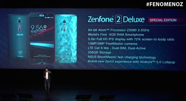 Asus ZenFone 2 Deluxe Special Edition announced with 256GB of storage