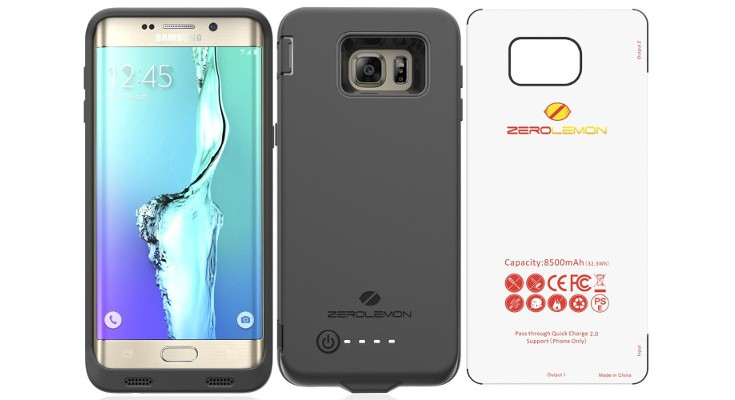 ZeroLemon rolls out a 8500mAh battery case for Samsung Big Guns