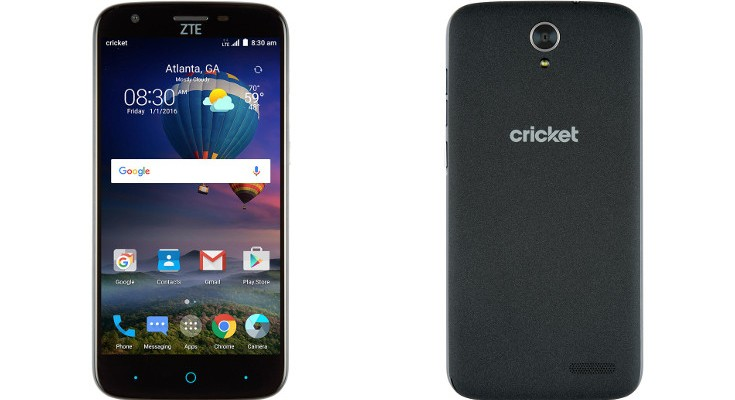 The ZTE Grand X3 heads to Cricket for $129.99