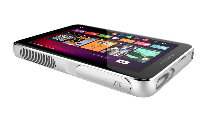 The ZTE Spro Plus is a high-powered Projector Tablet