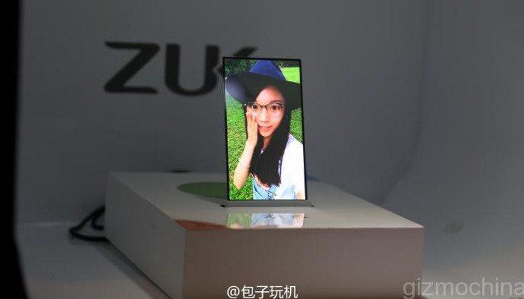zuk transparent display